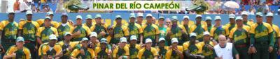 Peloteros cubanos debutan este miércoles en los Panamericanos - Página 2 20110503175615-pinar-del-rio-campeon2011